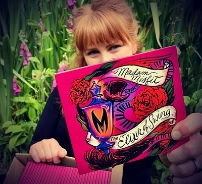 Madam Misfit's Groovy Songs From The New Album 'Elixir Of Swing' Bring Two Diverse Worlds Of Music As One