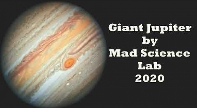 Mad Science Lab has Etched Out Fascinating Electronic Sounds in the Instrumental Track 'Giant Jupiter'
