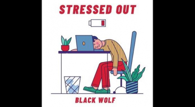 'Stressed Out' by Black Wolf Is the Unusual Hip-Hop Anthem You Need to Listen Now