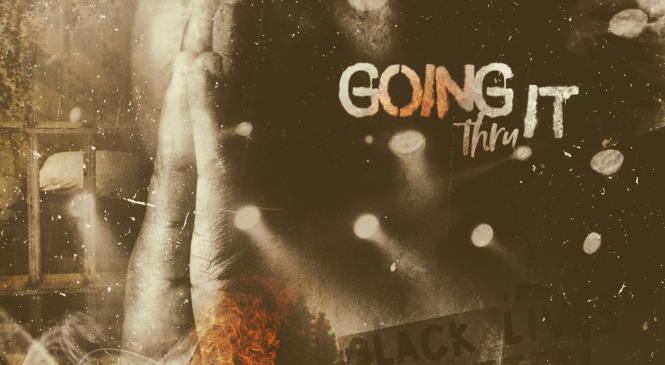 Dada P has rocked his fans with stupendous vibes of contemporary rap in the track 'Going Thru it'